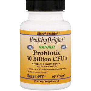 Healthy Origins, Пробиотик, 30 млрд КОЕ