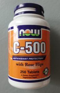 Лечение язвенного колита БАД. Now Foods Витамин С-500