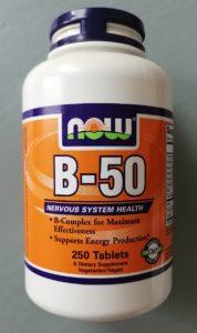 B-50, Комплекс витаминов группы В. Now Foods