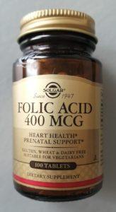 Solgar, Folic Acid. Фолиевая кислота