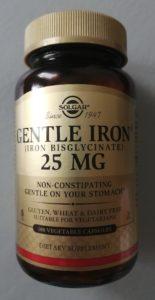 Solgar, Gentle Iron, (легкодоступноежелезо). Лечение язвенного колита БАД
