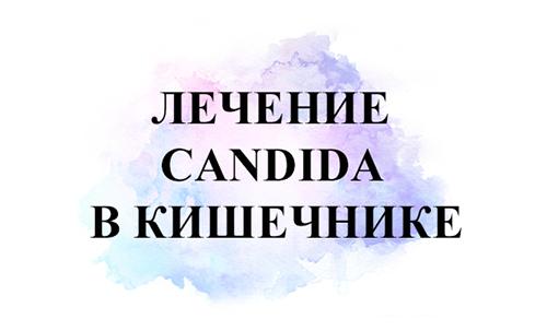 Лечение Candida в кишечнике